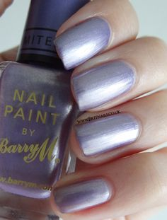 Barry M Instant Nail Effects Foil - Lilac