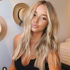 Hair Color Highlights, Hair Color Streaks, Ombre Hair Color, Hair Color Balayage, Blonde Color, Blonde Balayage, Hair Color Dark, Brown Blonde, Blonde Ombre