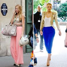 Serena Van der Woodsen's style