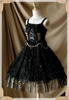 Belle Langue -Mist Starry Sky- Lolita Jumper Dress