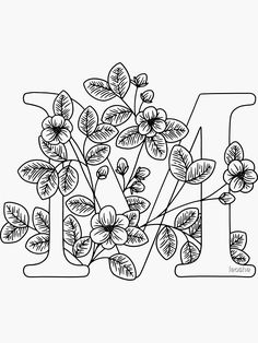 Pattern Coloring Pages, Flower Coloring Pages, Hand Embroidery Patterns Free, Diy Embroidery, Paint Icon, Floral Doodle, Cute Patterns Wallpaper, Baby Prints, Outlines