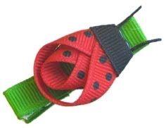 itmom: Ladybug Hair Clip Tutorial