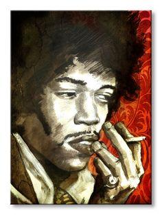 Cuadro Jimmy smoking