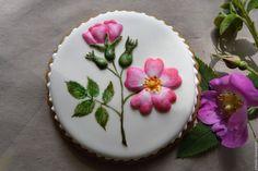 Купить Имбирный пряник. Цветы - комбинированный, имбирный пряник, расписной пряник, пряники, подарок девушке