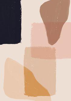 The Paper Bunny Arcadia (Blush) Print Pastel Wallpaper, Trendy Wallpaper, Cute Wallpapers, Wallpaper Backgrounds, Wall Wallpaper, Grafik Design, Art Inspo, Color Inspiration, Illustration Art