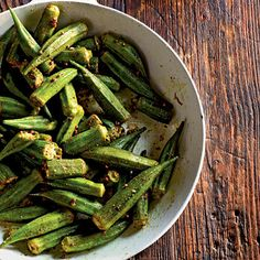 Indian-Spiced Okra by Cooking Light