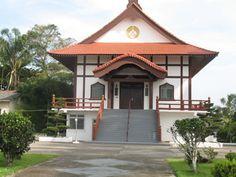 Templo Budista na cidade de Registro-SP no Vale do Ribeira