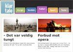 Klar Tale is an easy-to-read news website in Norwegian.