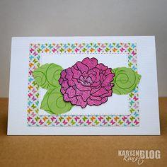 Karten-Kunst » Bunte Blumen