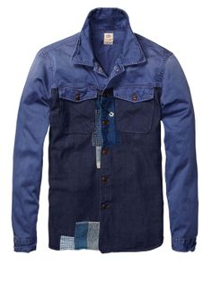 scotch & soda mix and match shirt
