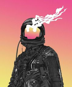 Art, design, photography, painting, illustration and much more related to the universe and space exploration. Astronaut Illustration, Illustration Art, Art Cyberpunk, Character Art, Character Design, Cosmos, Pretty Art, Aesthetic Art, Aliens