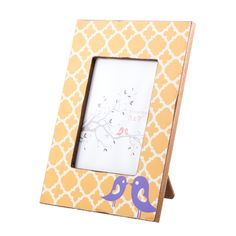 Luxe Laundry - Apricot Bird Frame, $26.95 (http://www.luxelaundry.com.au/apricot-bird-frame/)