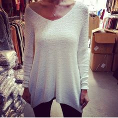 Would look so cute with a bright tank under it for spring.