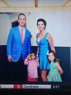 Peyton Manning & Family