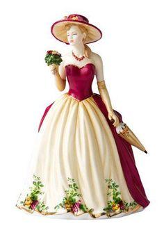 royal doulton old country rose | Royal Albert Old Country Roses 2010 Figure of the Year Royal Doulton ...