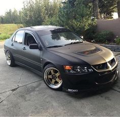 #Mitsubishi #Evo #Slammed #Stance #Modified