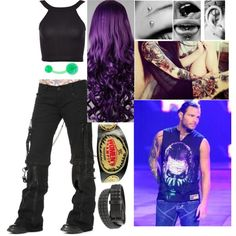 With Jeff Hardy!!!
