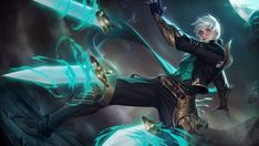 View an image titled 'Gusion Art' in our Mobile Legends: Bang Bang art gallery featuring official character designs, concept art, and promo pictures. Wallpaper Rock, Mobile Legend Wallpaper, Hero Wallpaper, Wallpaper Maker, Wallpaper Desktop, Black Wallpaper, Nature Wallpaper, Fantasy Male, Fantasy Warrior