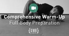 Here's a full body warm-up routine that will prepare you for whatever physical activities you want to do.