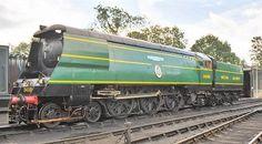 Battle of Britain class locomotive No. 34081 '92 Squadron'