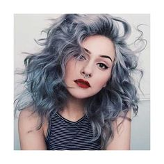 25+ Punk Hairstyles for Curly Hair ❤ liked on Polyvore featuring beauty products, haircare, hair styling tools and curly hair care