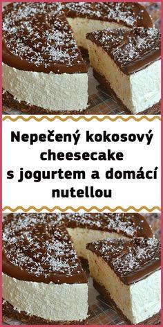 Nutella, Tiramisu, Cheesecake, Low Carb, Ethnic Recipes, Desserts, Food, Decor, Bakken