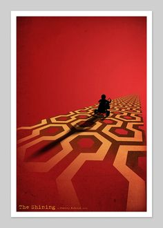 The Shining Inspired 13x19 Inch Movie Print. £20.00, via Etsy. By DirtyGreatPixelsUK .
