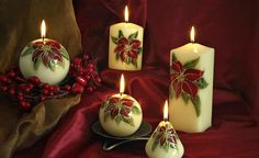 Huge range of Christmas candles now in stock in Candlemania Christmas Candles, Christmas Decorations, Pillar Candles, Decor Ideas, Range, Candles, Christmas, Crafting, Pictures