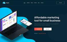Targify - Marketing Automation SAAS WordPress Theme Marketing Automation, Inbound Marketing, Marketing Tools, Seo Optimization, Competitor Analysis, News Sites, Create Website, Best Wordpress Themes