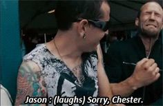 Chester Bennington as an...
