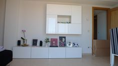 Salón con módulos Besta de Ikea. (pág. 2) | Decorar tu casa es facilisimo.com
