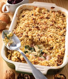 Method: Preheat oven to Lightly grease a deep oven proof casserole dish. Heat the oil in a pan and fry the onions with the sugar until soft. This takes about 5 minutes stirring occasionally. Meanwhile, put the butter,… Grease, Casserole Dishes, Onions, Macaroni And Cheese, Fries, Oven, Butter, Sugar, Chicken