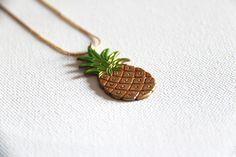 Piña tropical, de SrtaRita #necklace #hangit