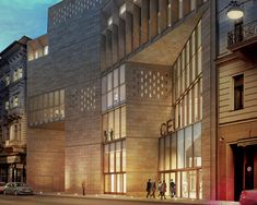 CEU campus development by o'donnell + tuomey breaks ground in budapest