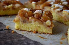 Joghurtos pite fahéjas almával | Álom.Íz.Világ. Sweet Cakes, Banana Bread, French Toast, Bakery, Cheesecake, Muffin, Food And Drink, Pie, Sweets