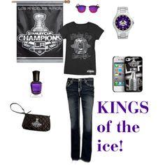 """LA Kings Outfit"" by jbalkin on Polyvore"