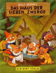 Walt Disney / Das Haus der sieben Zwerge by micky the pixel, via Flickr - 1959