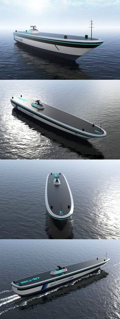 Autonomous vehicles are now a reality on land, and the next natural step is to take to the sea! The Algoritmi concept explores this possibility for cargo carrying vessels. Read Full Story at Yanko Design