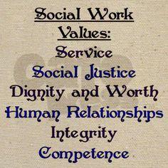 Social Work Values