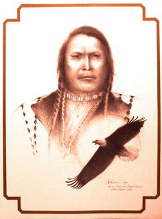 """Chief Ouray 18""""x23"""" Limited Edition Hand/signed & numbered"""