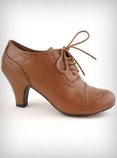 They look weird not on but my friend in France had a couple pairs of these I loved them because they looked perfect with any kind of jeans and there was a heel but not TOO high, for just school or whatever. Adorable.