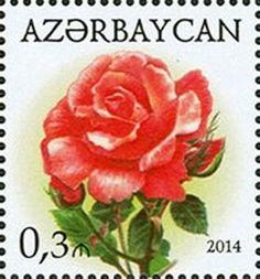 Sello: Rose (Azerbaiyán) (Roses) Mi:AZ 1055A