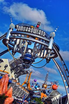 Tomorrowland at Walt Disney World
