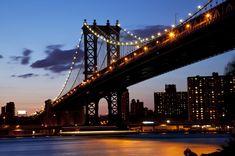 La ciclovía del Puente de Manhattan