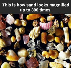 I love sand and to see it this way is amazing!