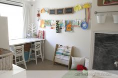 Great playroom!  Walk through this beautiful home.