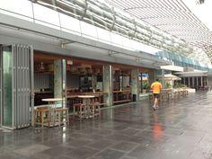 Lone Runner, Marina Bay, Singapore