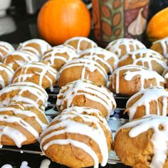 Mom, What's For Dinner?: Glazed Pumpkin Cookies