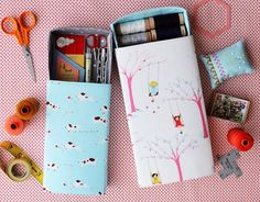 Pull out boxes PDF sewing pattern by comfortstitching on Etsy