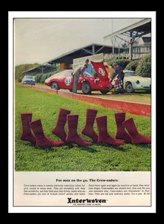 Vintage Print Ad February 1963 : Interwoven by NostalgicDreamsCND